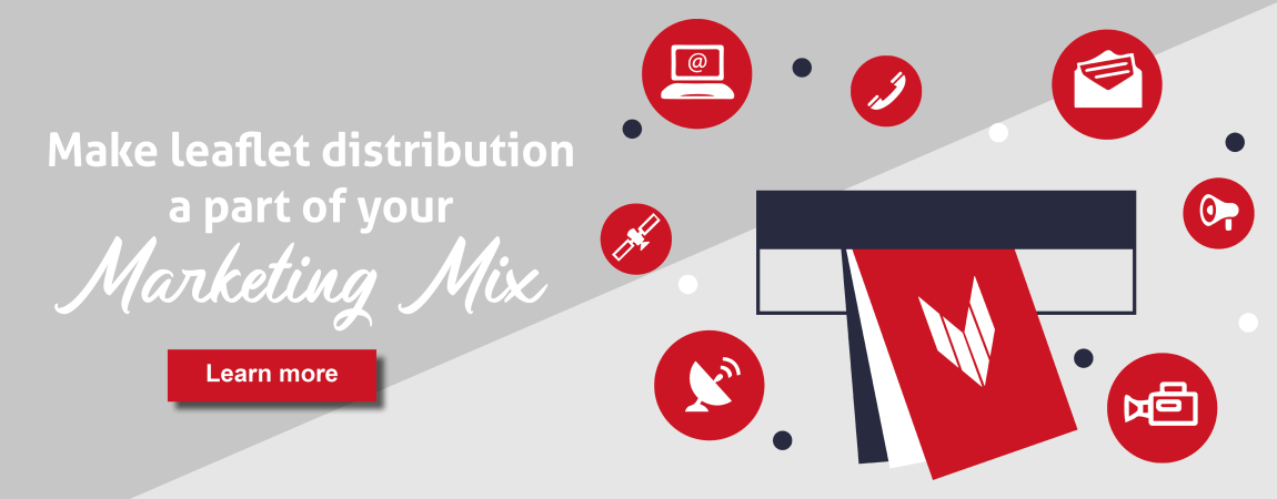 Make leaflet distribution a part of your marketing mix