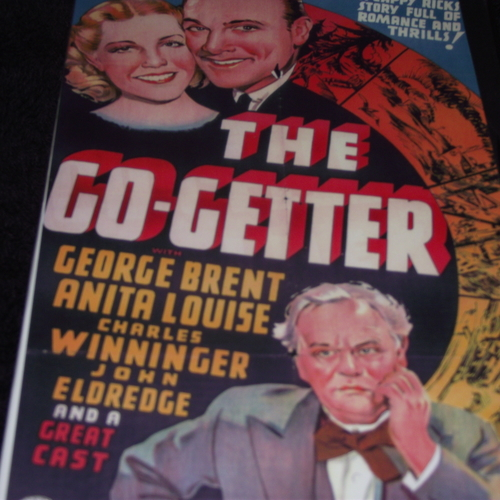 THE GO-GETTER 1937 DVD
