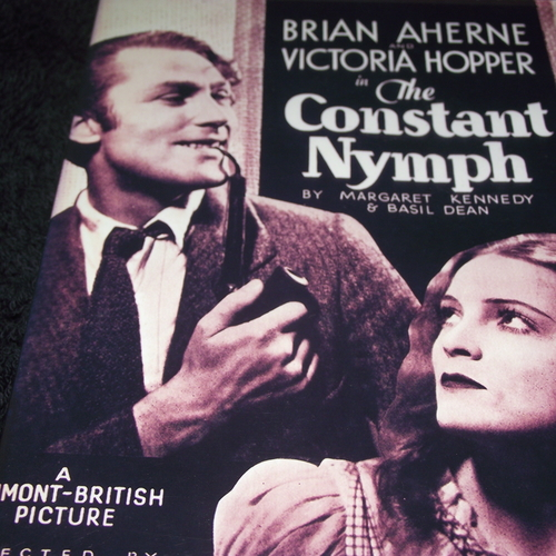 THE CONSTANT NYMPH 1933 DVD
