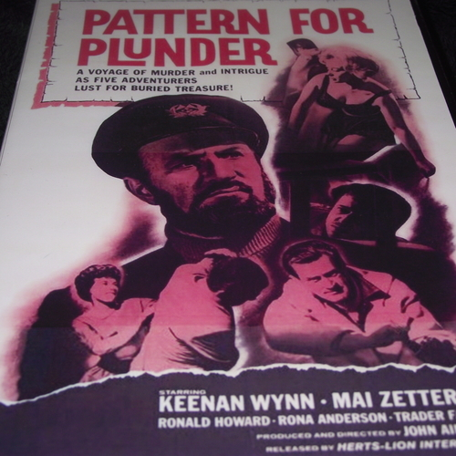 PATTERN FOR PLUNDER 1963 DVD