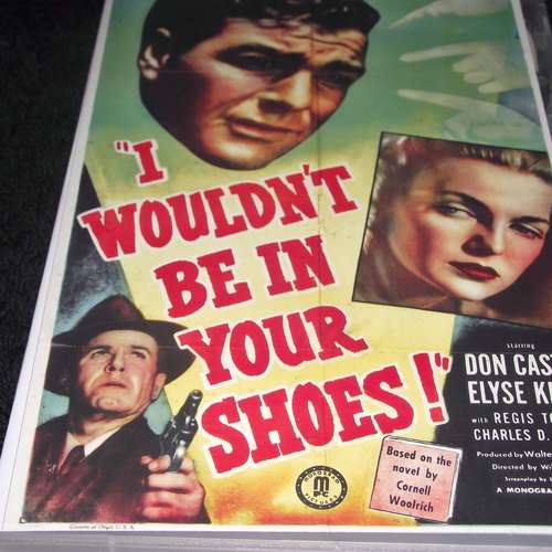 I WOULDN'T BE IN YOUR SHOES 1948 DVD