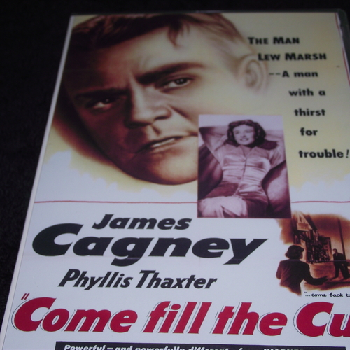 COME FILL THE CUP 1950 DVD