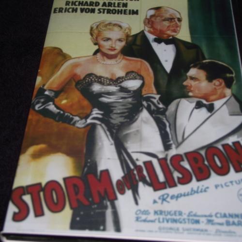 STORM OVER LISBON 1944 DVD