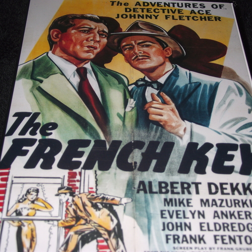 THE FRENCH KEY 1946 DVD