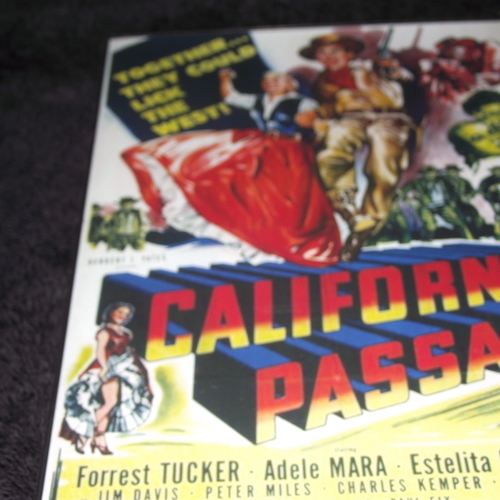 CALIFORNIA PASSAGE 1950 DVD