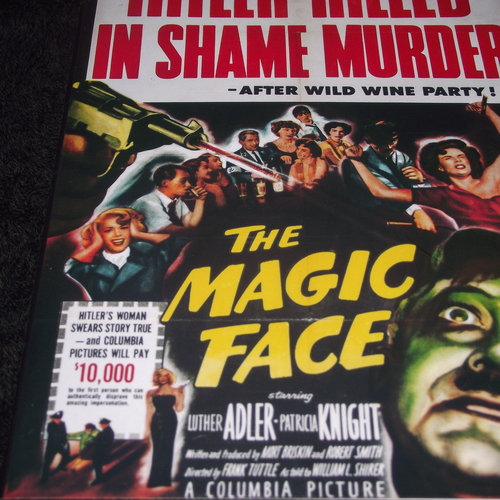 THE MAGIC FACE 1951 DVD