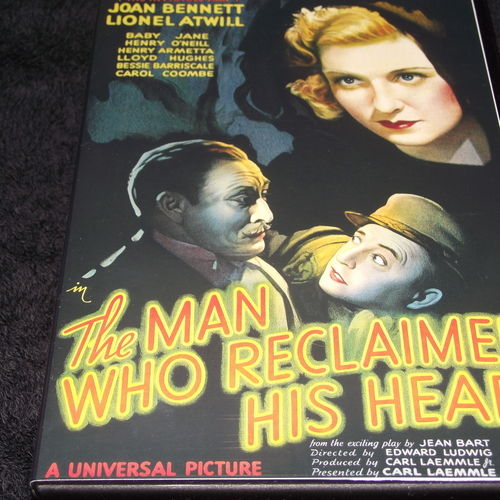 THE MAN WWHO RECLAIMED HIS HEAD 1934 DVD