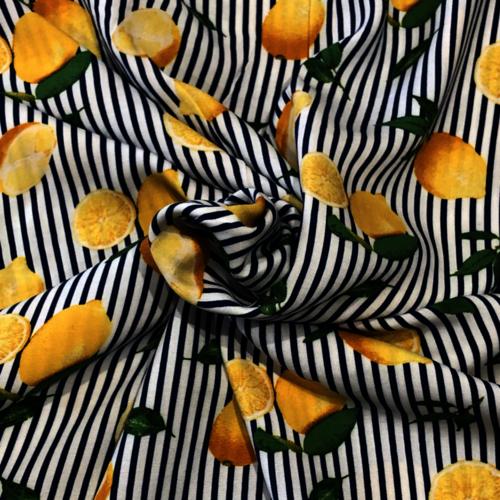 When Life Gives You Lemons Viscose