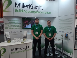 Miller Knight at The Fire Safety Show, NEC this week!!