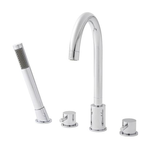 Outline 4 Hole Bath Shower Mixer