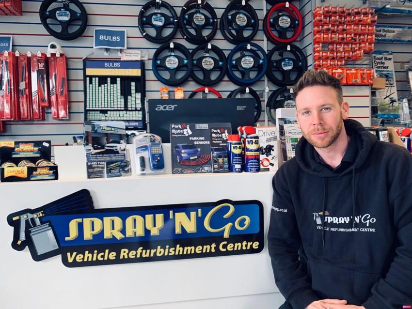 jon garrod, smart repairs, bodyshop, great yarmouth,