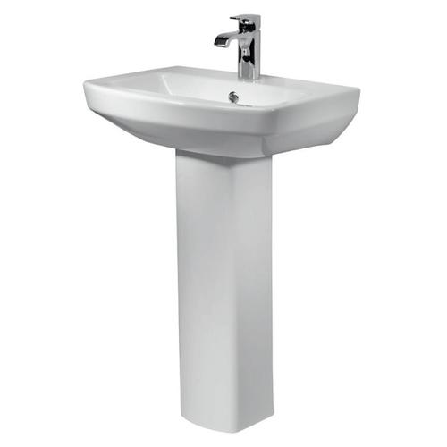 Kensington 550mm 1th Basin and Pedestal