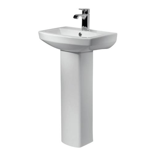 Kensington 460mm 1th Basin and Pedestal