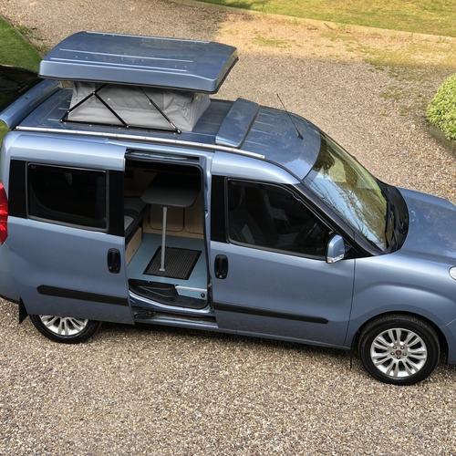 2010 Fiat Doblo Eleganza 1.6 Multijet Diesel Camper Van 2 Berth ONLY 53747 Miles