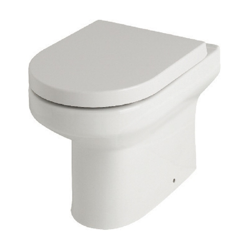 Highgrove BTW WC Pan and Premium soft close seat