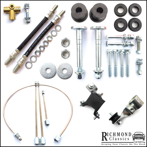 Classic Mini Rear Subframe and Exhaust Fitting Kit 1976 onwards