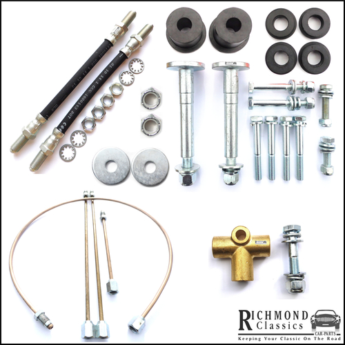 Classic Mini Rear Subframe Fitting Kit - 1976 onwards
