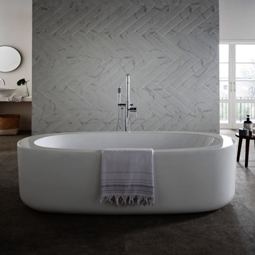Oval Designer Bath