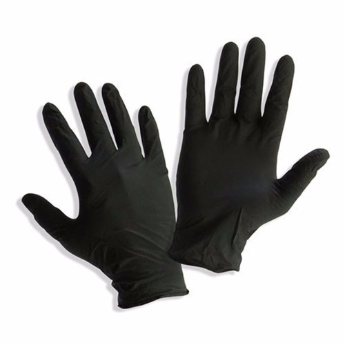 Black Nitrile Disposable Gloves 5.5ml thickness
