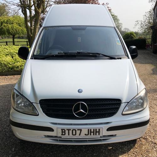 2007 Mercedes Vito 111 CDi Camper Van 2 Berth 2148cc Diesel 64123 miles