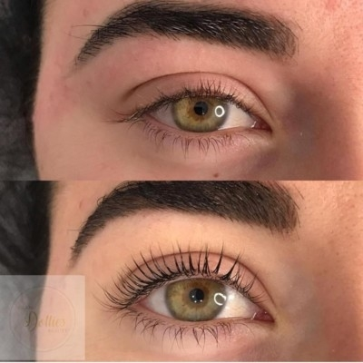 FALSIES OR NOT ?- NO 100%  AU NATURALE WITH OUR LASH LIFTS!
