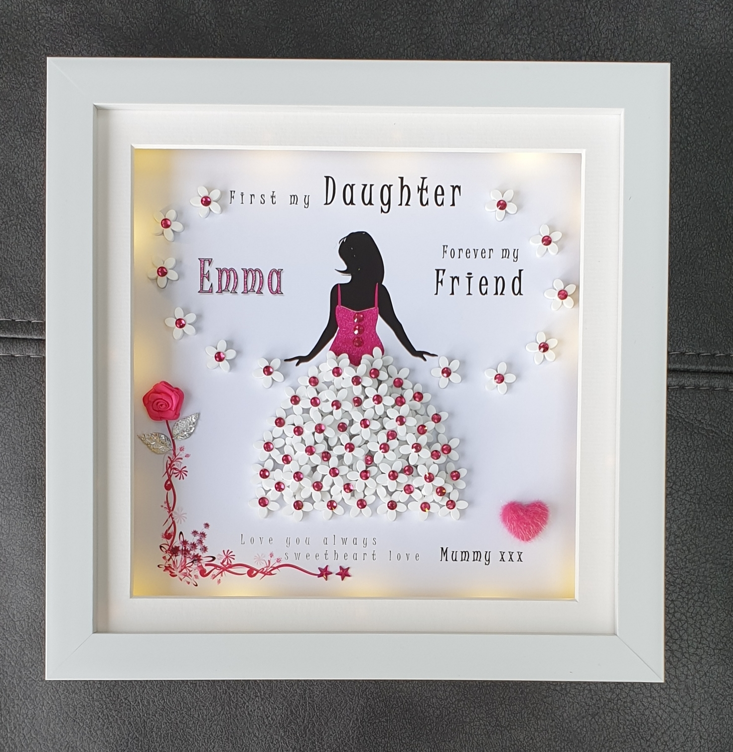 Personalised mother/sister/daughter frame