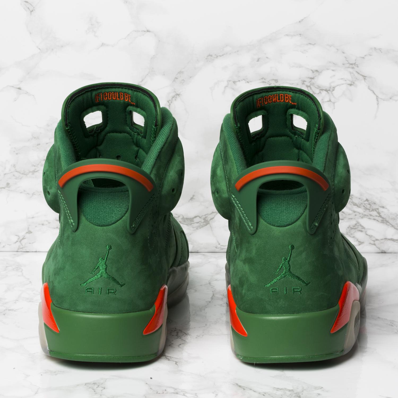 32fae5f8e57 Air Jordan 6 Retro Gatorade 'Pine Green' Sneakers | Armetist ...