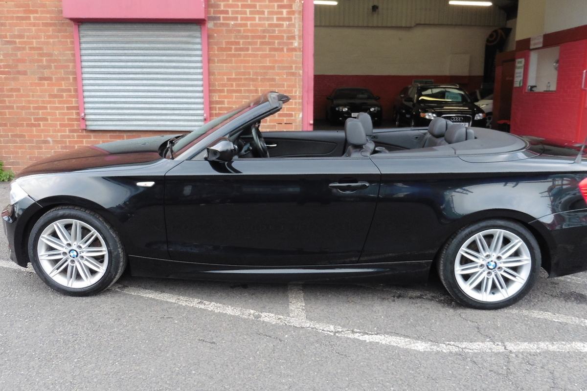BMW 1 Series 2.0 118i M Sport 2dr Convertible - Ready To Drive Away Today!