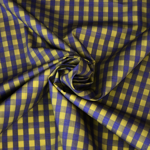 Check You Out Yellow and Purple Shirting