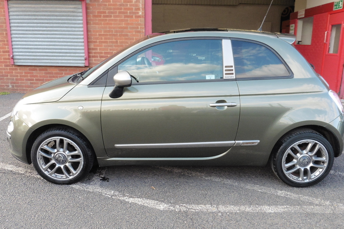 Fiat 500 1.3 MultiJet byDiesel 3dr - 1 Owner From New - Full Service History!