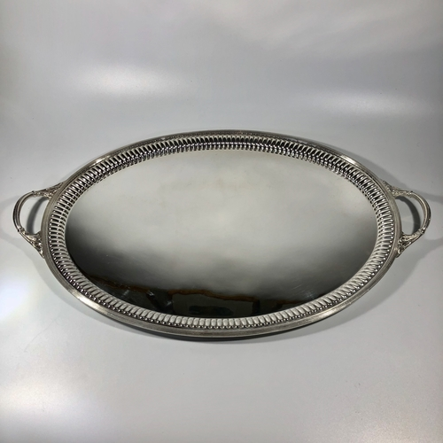 19th C Mappin & Webb silver plated serving tray