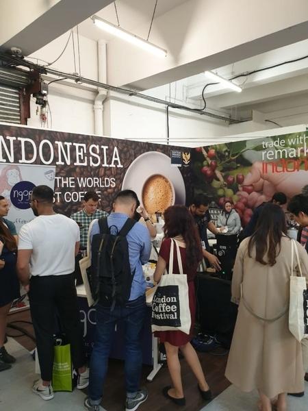 Pesona Kopi Indonesia di Ajang London Coffee Festival 2019