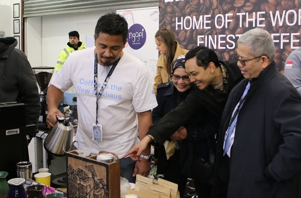 Semakin Mendunia, Kopi Indonesia Jadi Primadona di London Coffee Festival 2019