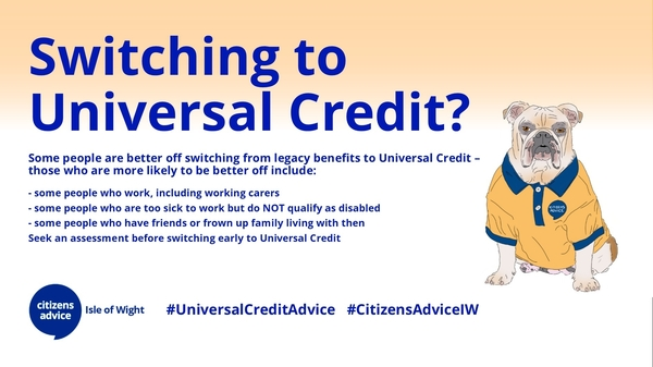 Switching to Universal Credit?