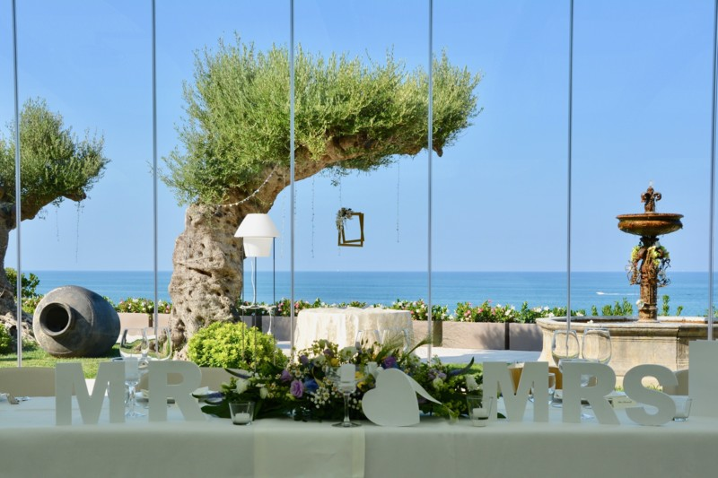 sea view wedding