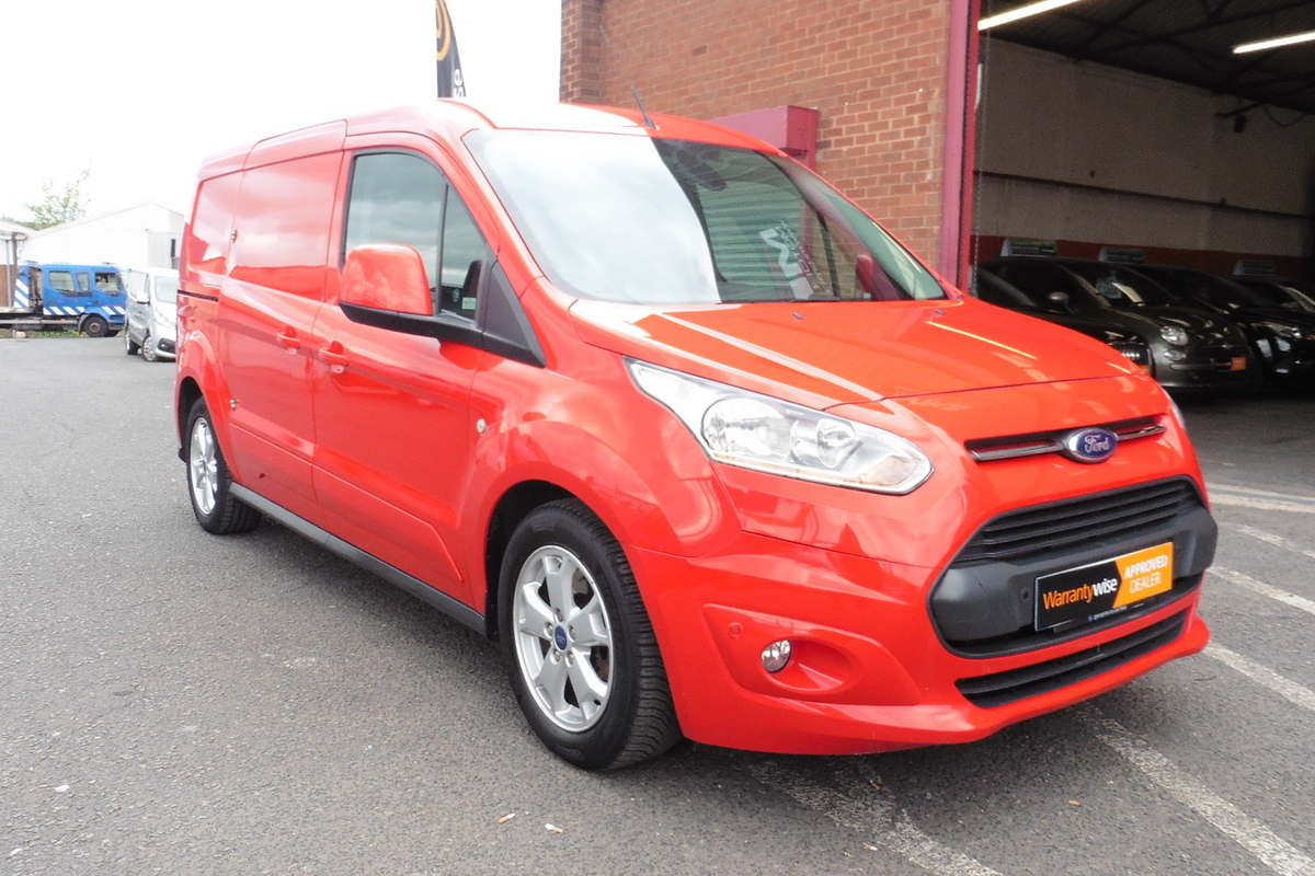 Ford Transit Connect 1.6 TDCi L2 240 Limited Panel Van - Sat Nav - Bluetooth