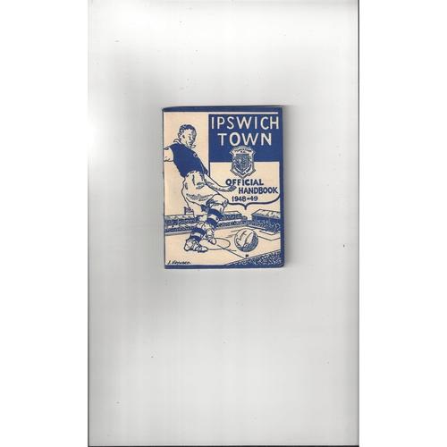 Ipswich Town Official Football Handbook 1948/49