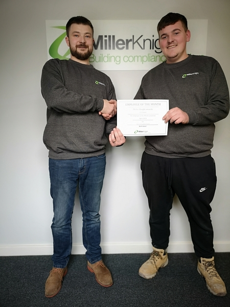 Rewarding Outstanding Work - Employee of the Month - April 2019