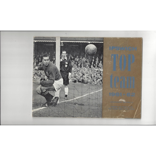 Ipswich Town top team 1961/62 championship souvenir