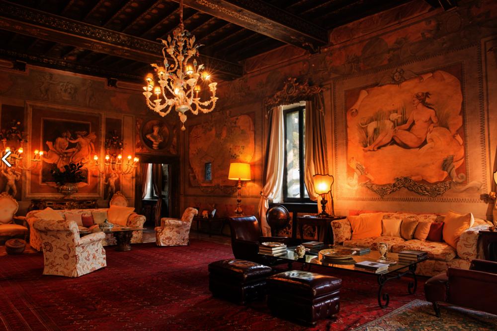 Luxury Castle Setting