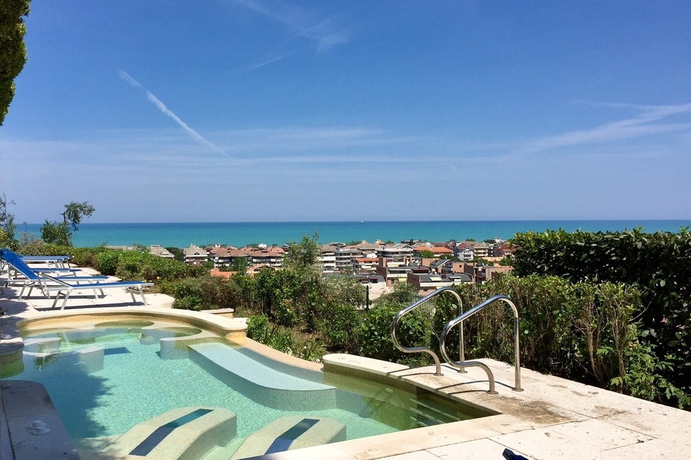 Stylish Italian Beach Club, Adriatic Coast