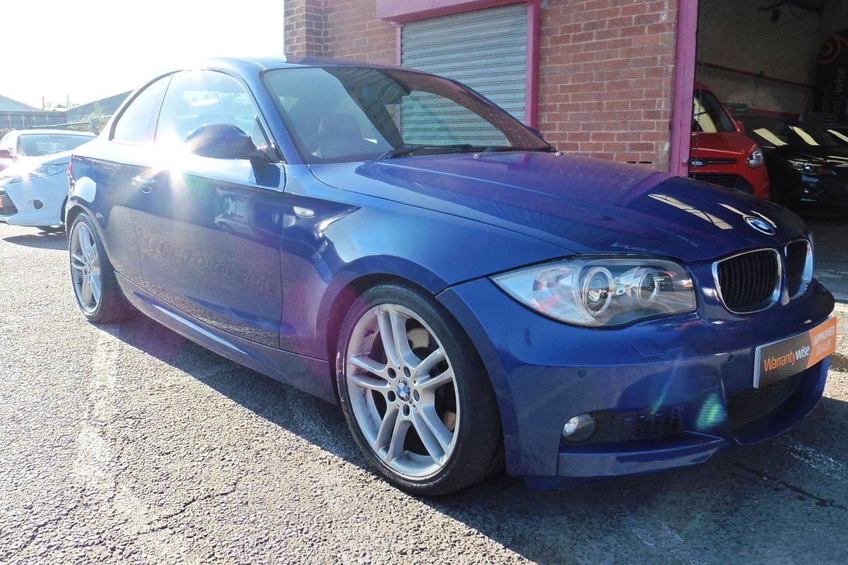 BMW 1 Series 2.0 123d M Sport 2dr - Full Leather Interior - LONG MOT!