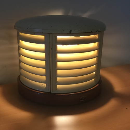 Upcycled Beehive Table Lamp