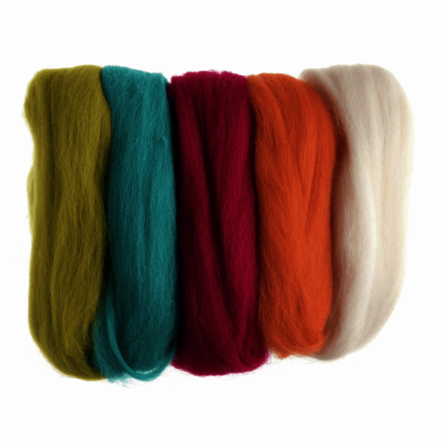 Spinning, Weaving and Felting