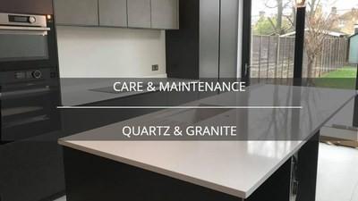 quartz worktops care & maintenance