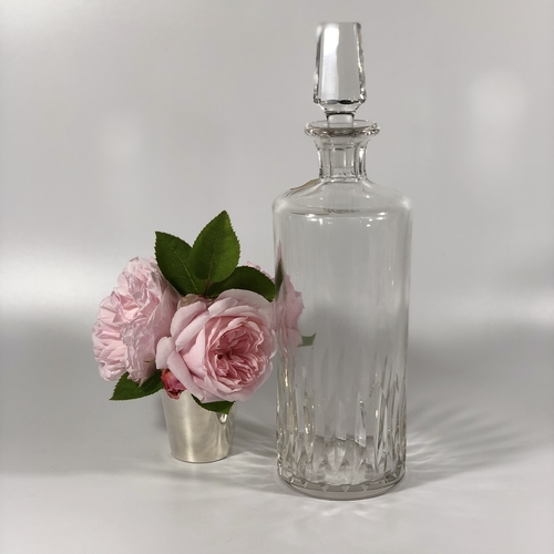 Large French crystal decanter