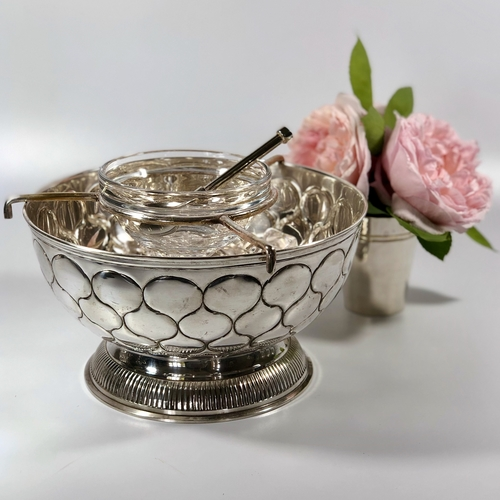 French Bistro caviar serving set and spoon
