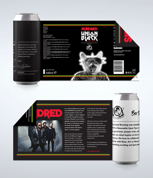 Skindred & Box Social Brewing