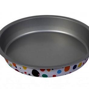 "Wilton : Bake & Bring - Geometric Print - 8"" Round Cake Tin"