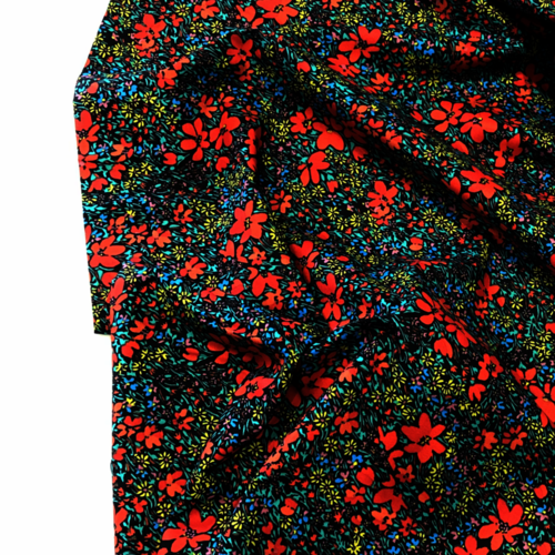 Floral Flourish Pima Cotton Lawn